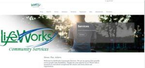 Lifeworks Community Services website